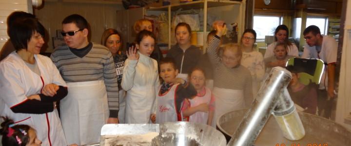 Z wizytą w piekarni