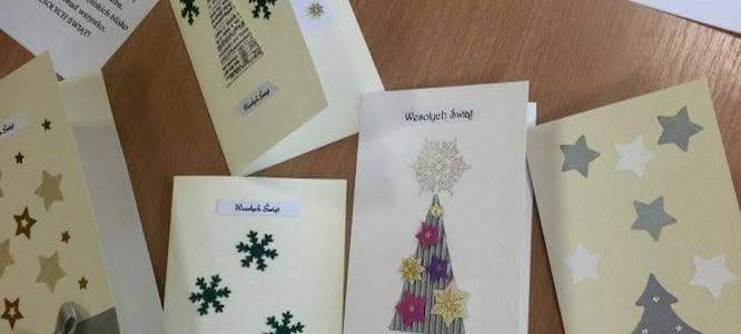 Kartki świąteczne z WTZ Września