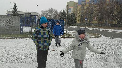 Pierwszy zimowy spacer