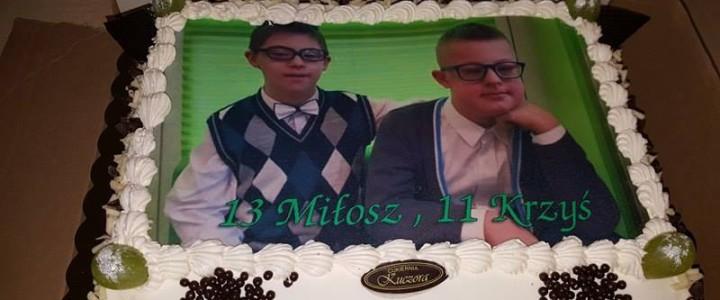 Urodziny Miłosza i Krzysztofa